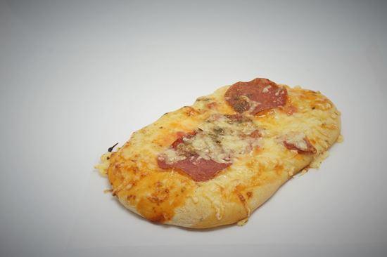 Bild von Pizzazunge mit Salami